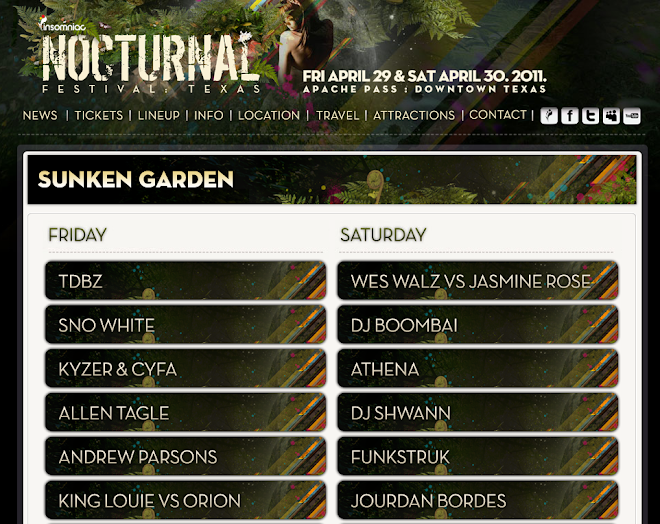 lineup for nocturnal