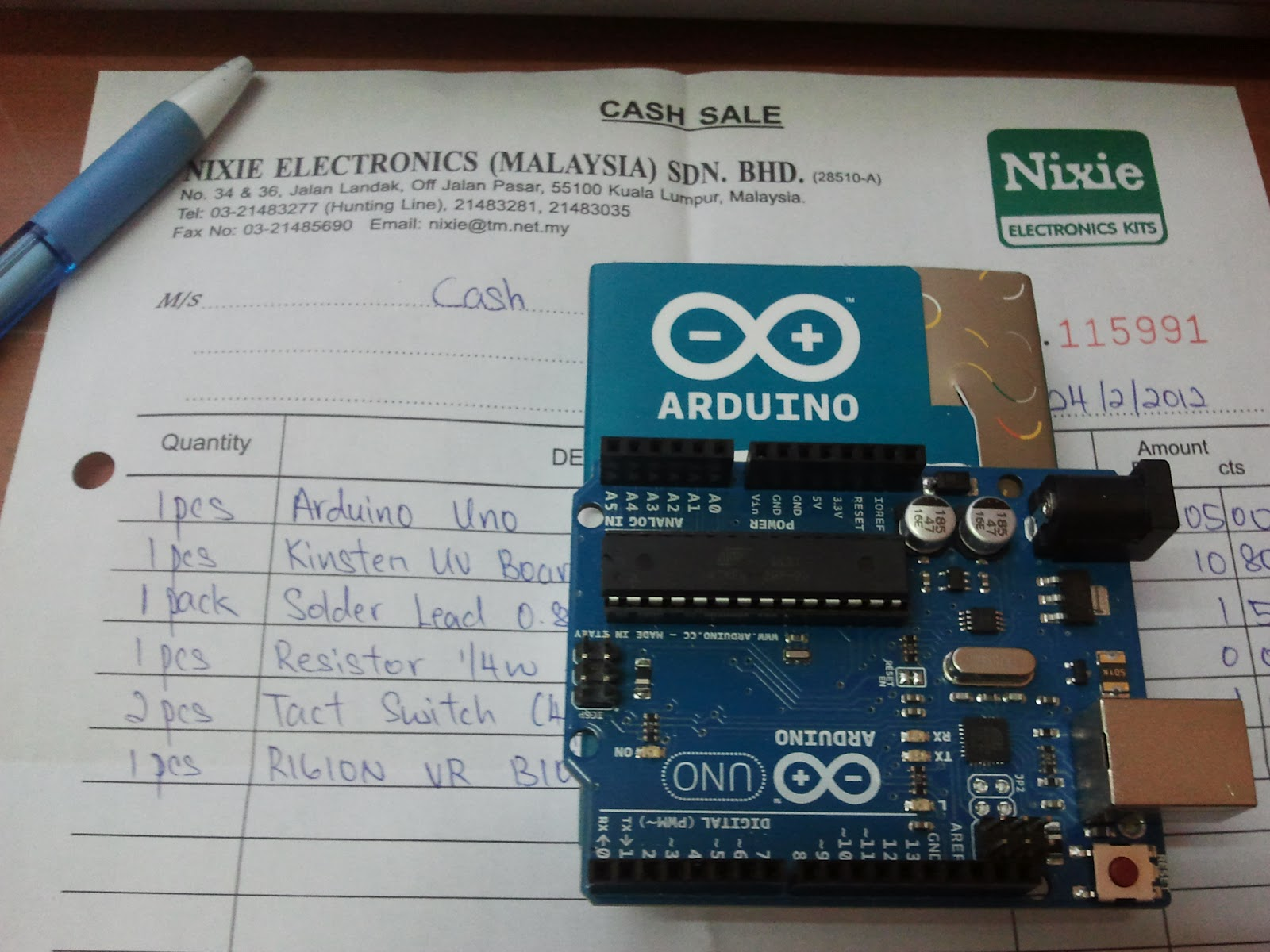 Audiometer Week 7 13 Arduino Arduinokit Quite Limited But I Do Get To Go Jalan Pasar Buy Kit Bought Uno For Rm105 At Nixie Electronics With Some Other Componets
