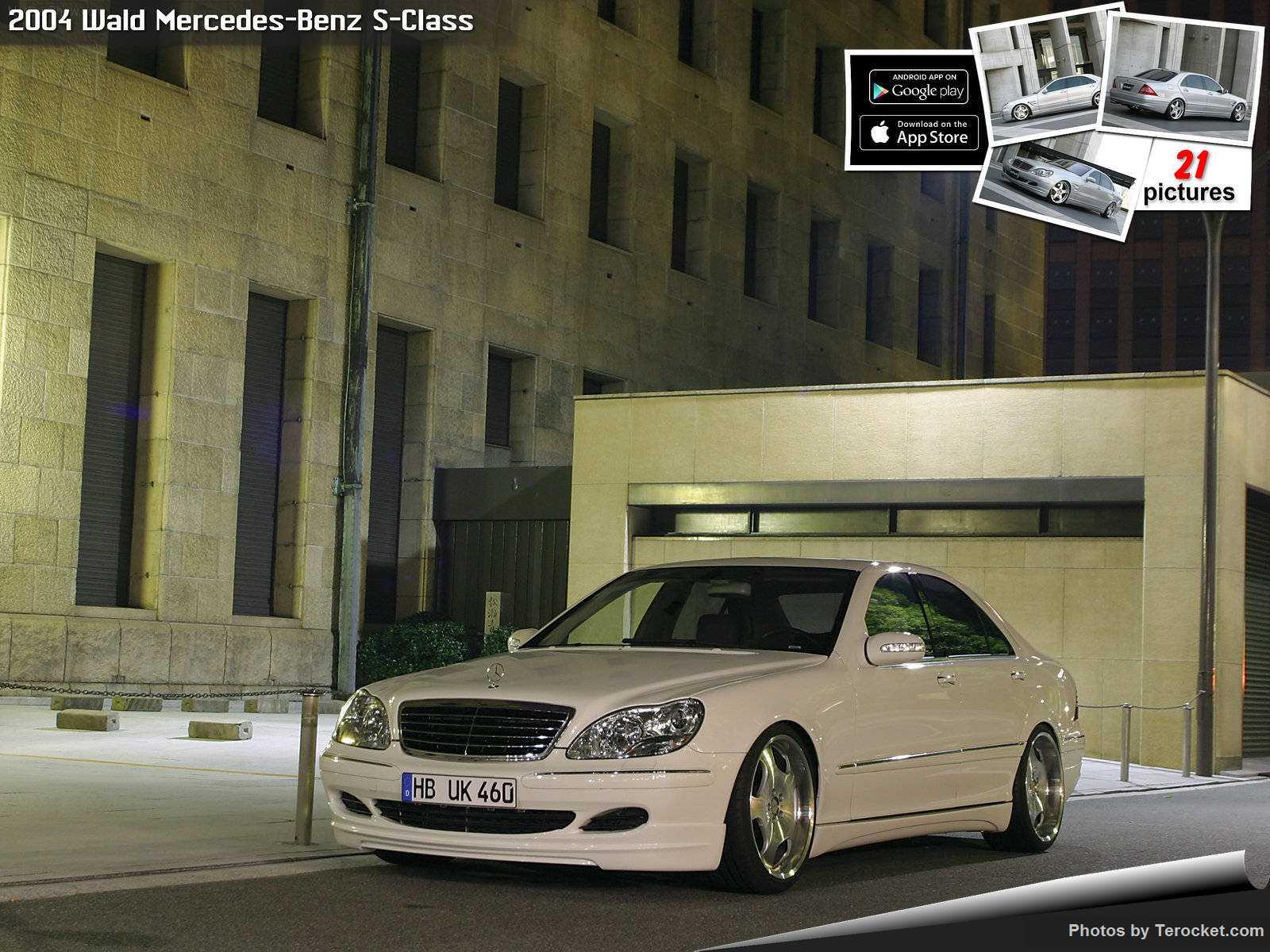 Hình ảnh xe độ Wald Mercedes-Benz S-Class 2004 & nội ngoại thất