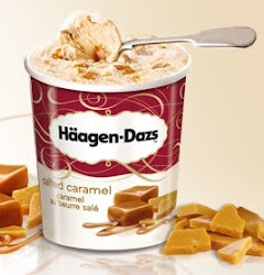 Salted Caramel  rets trendskra nyhet frn Hagen-Dazs