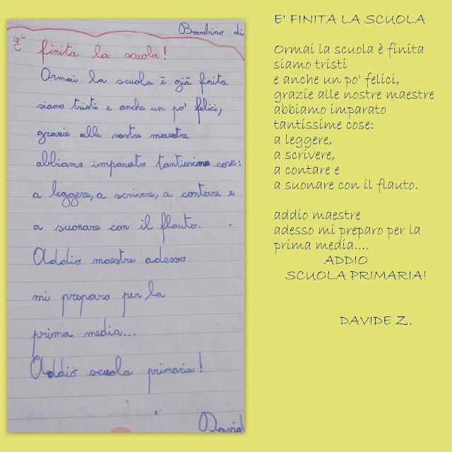 La scuola in cartella poeti di fine ciclo - Poesie primaverili per la scuola materna ...