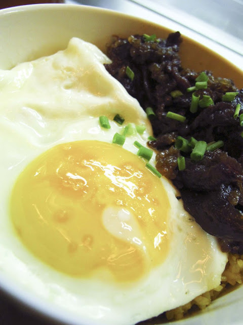 Beef Tapa with sunny side up egg
