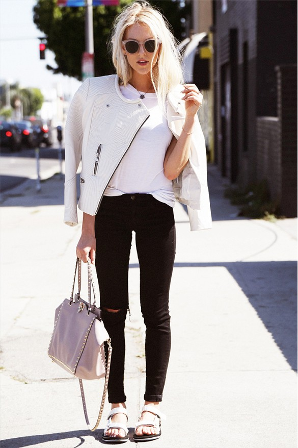 Street Style Outfits Ways To Wear Skinny Black Jeans