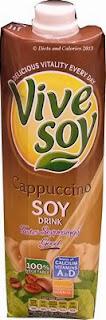 Vive Soy Cappuccino Drink Carton