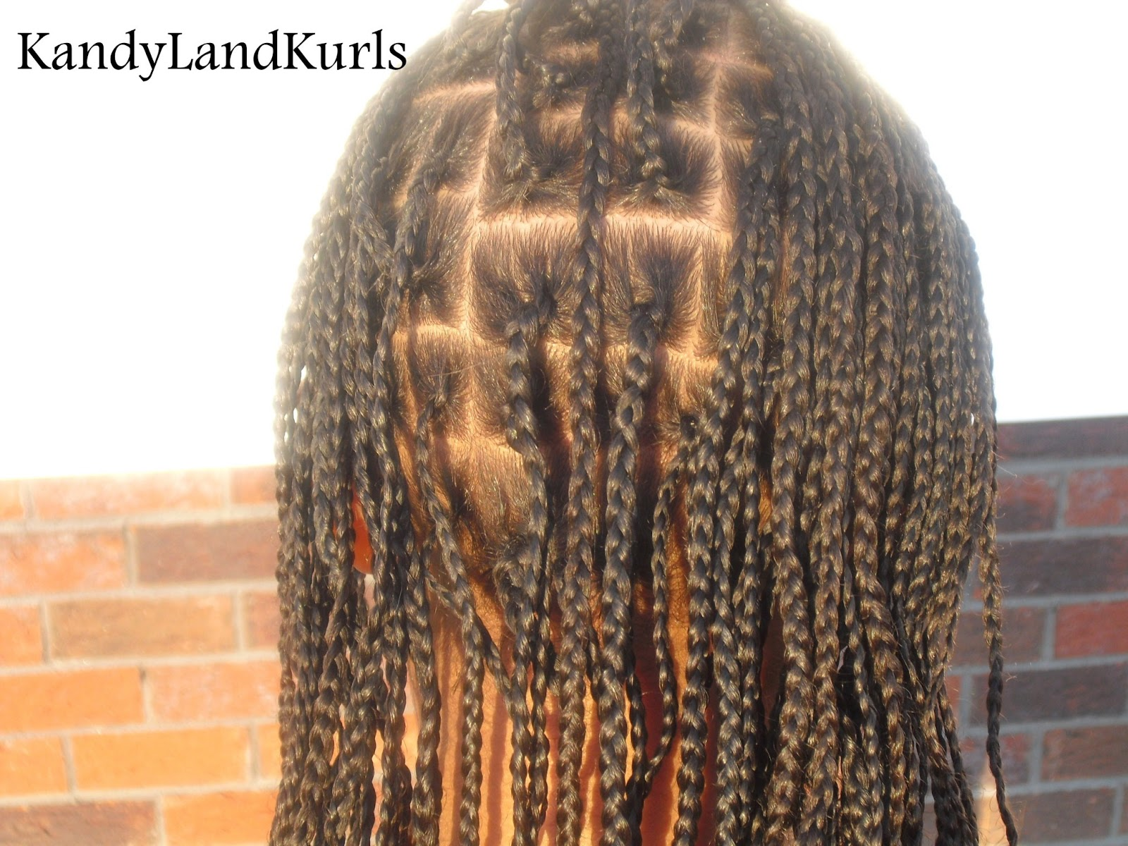 Small Box Braids Styles
