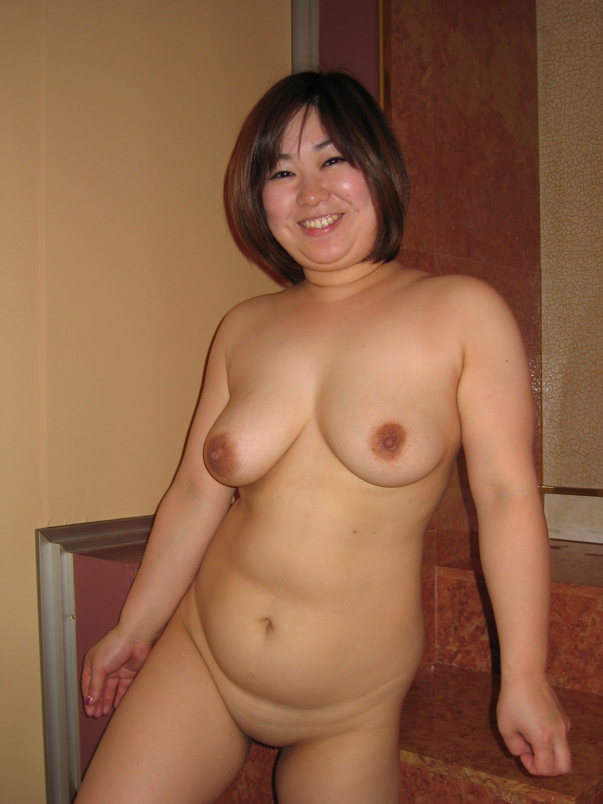 Chubby Nude Asian Mature