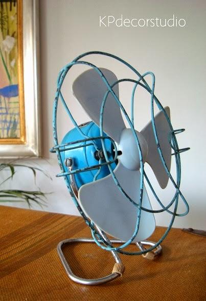 ventilador antiguo modelo tymesa 125 voltios para decorar
