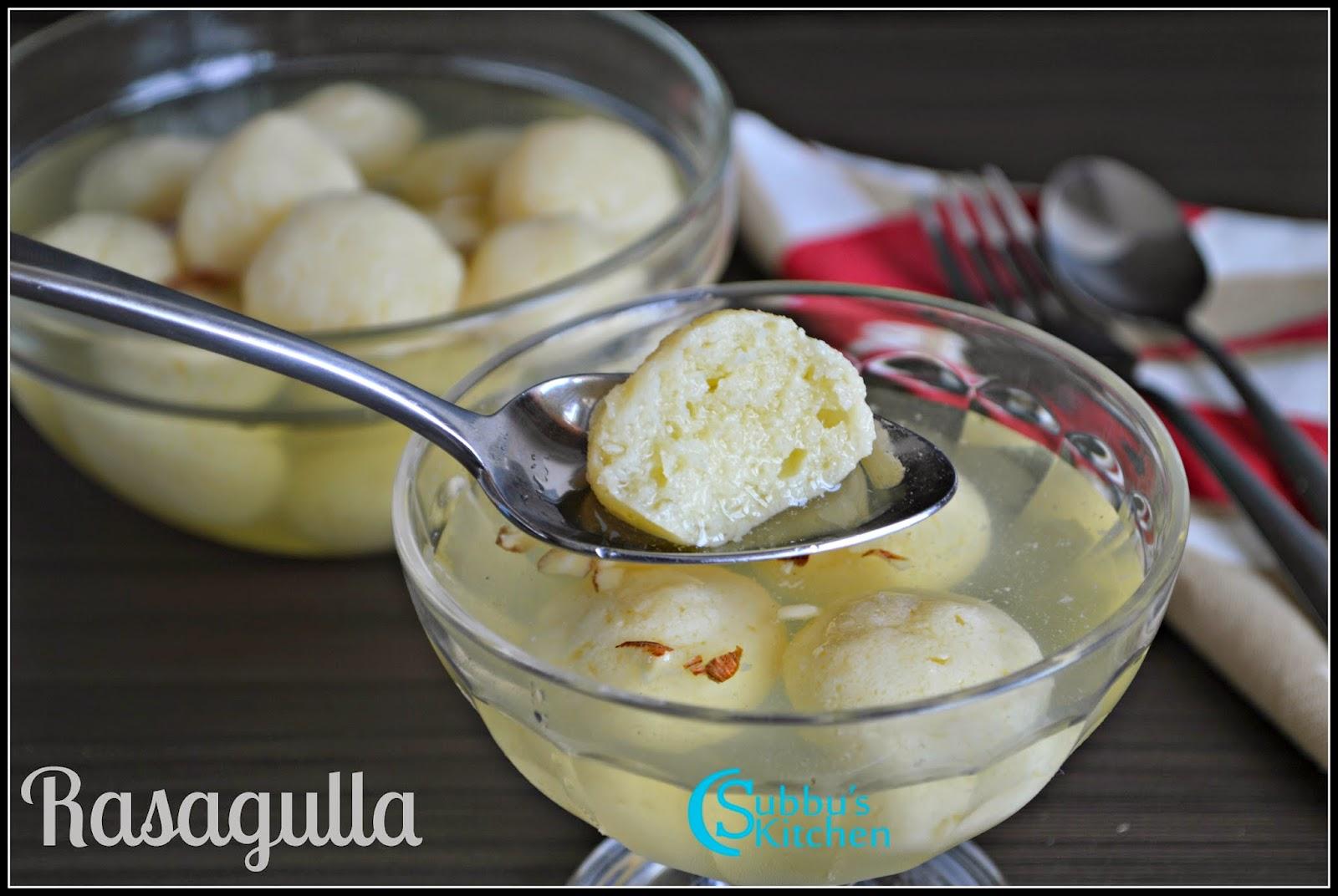 Rasgulla Recipe | Bengali Sponge Rasgulla Recipe