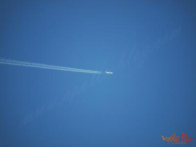 Avion pe cer