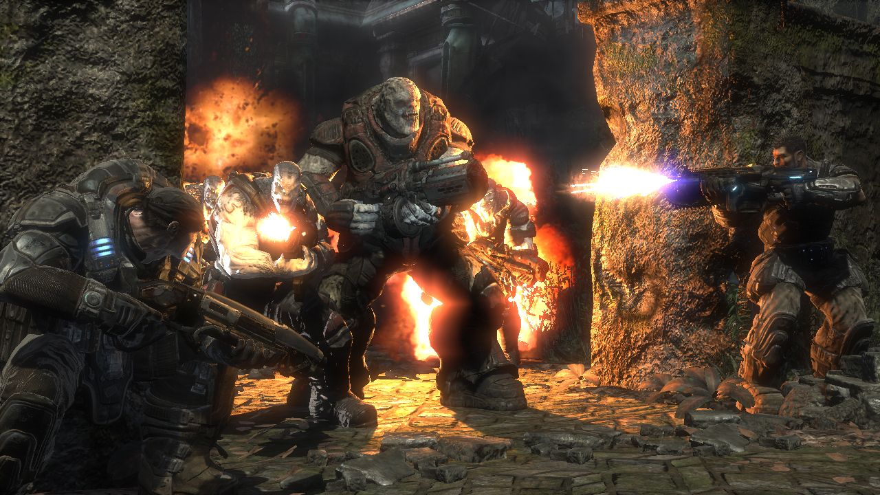 With Gears of War, Epic returns gamers to the massively ...