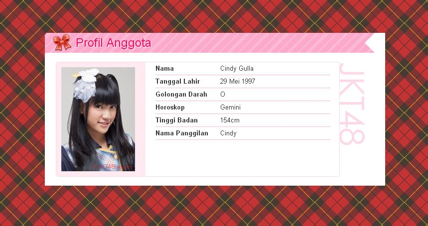Download Foto Wallpaper Cindy Gulla JKT48