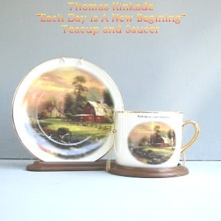 Buy a Thomas Kinkade Sunset At Riverbend Farm Teacup