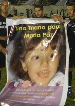 "Colabor en el Bono Contribucin ""Una Mano para Mara Paz"""
