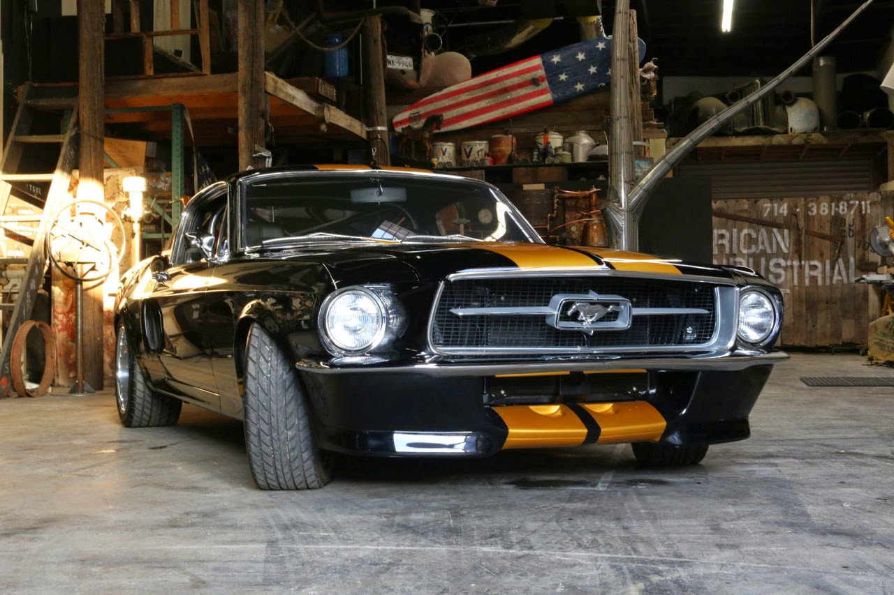 Chad chambers 1967 mustang fastback