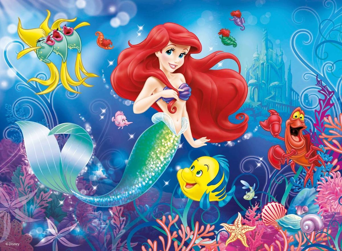 disney hd wallpapers the little mermaid hd wallpapers