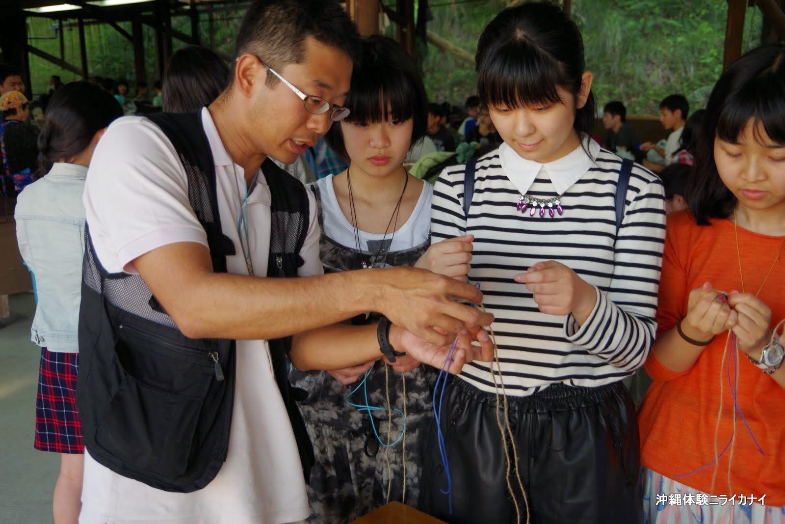 沖縄体験/観光マリンクラフト作り