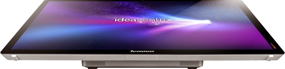 дисплей моноблока Lenovo IdeaCentre A720 горизонтален столу