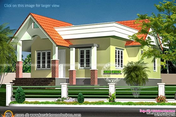 2 bed room villa - 763 Sq-ft