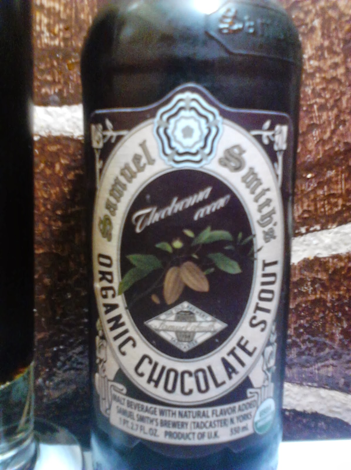 Samuel smith's Organic Chocolate Stout pic
