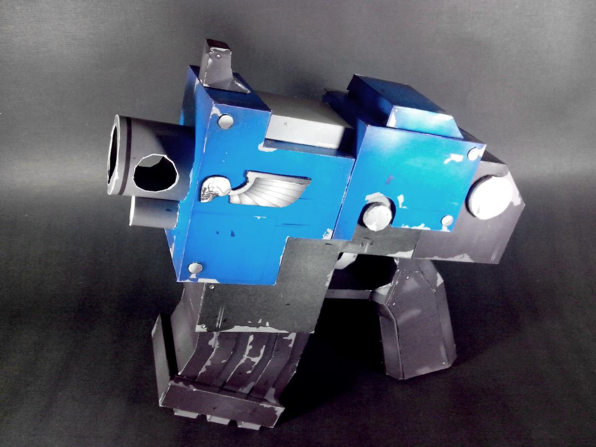 Warhammer 40k Bolt Pistol Papercraft