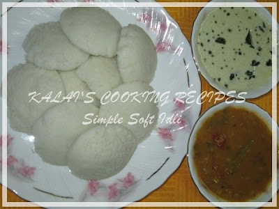 Simple Soft Fluffy Idli / Idly