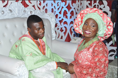Photos From The Wedding Ceremony Of Super Eagles Forward In Ibadan