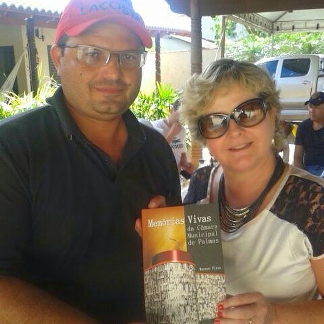 Presidente da Câmara de Ouro Velho recebe homenagem em Palmas
