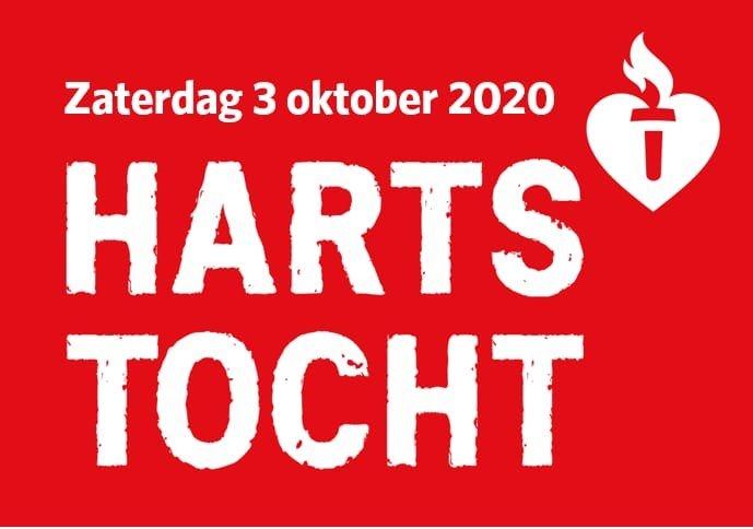 Op 3 oktober hoop ik mee te doen met de Hartstocht