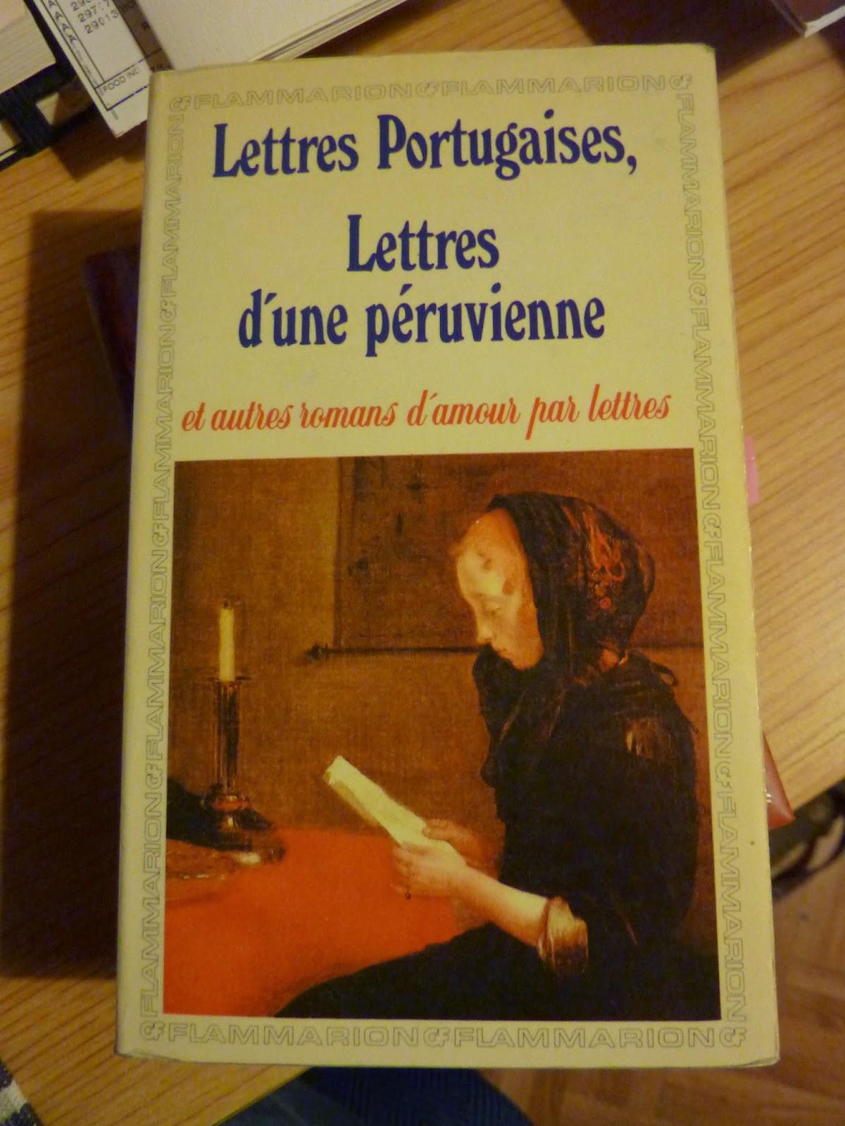 Lettres portugaises - Guilleragues