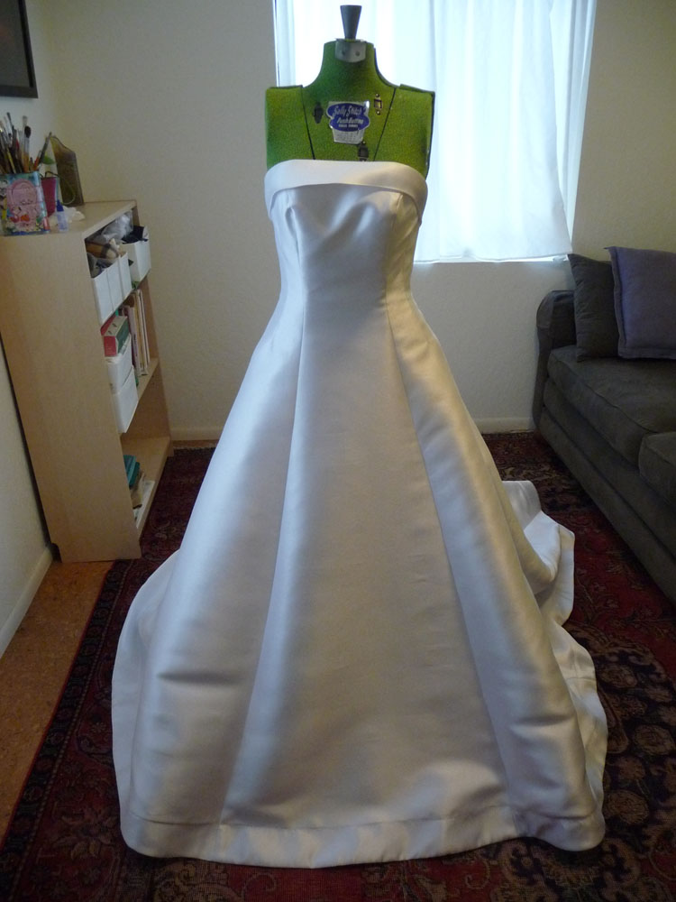 Anne thomas couture wedding alterations 1950s wedding alteration part 2 solutioingenieria Gallery