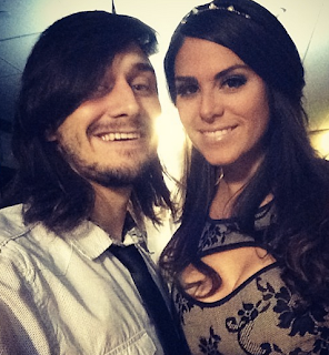 Big Brother Amanda and McCrae on New Year's
