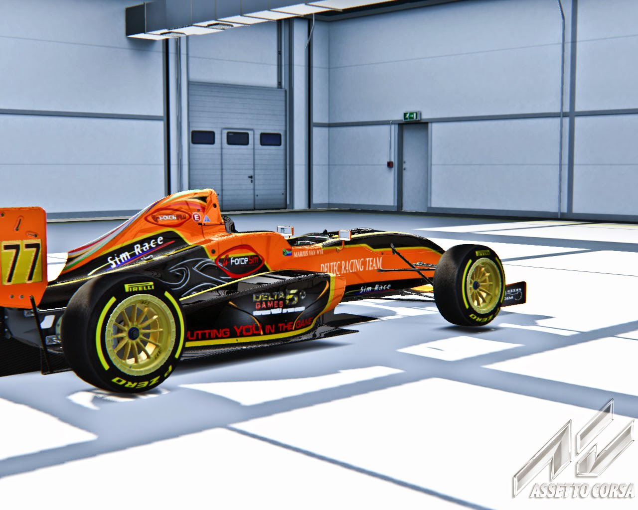 Sim Race SS3 Deltec Liveries