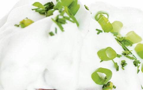 Patê de ricota com iogurte light
