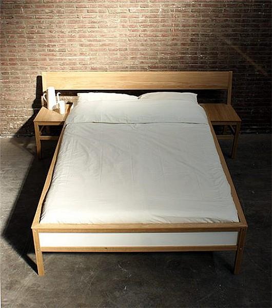 Dise o original de cama mesa para el dormitorio bonitadecoraci - Cama de diseno ...