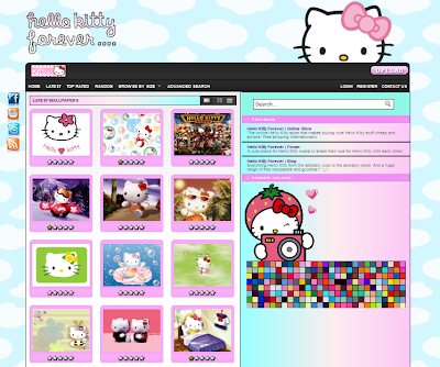 Hello Kitty Forever | Wallpapers | Hello Kitty Forever