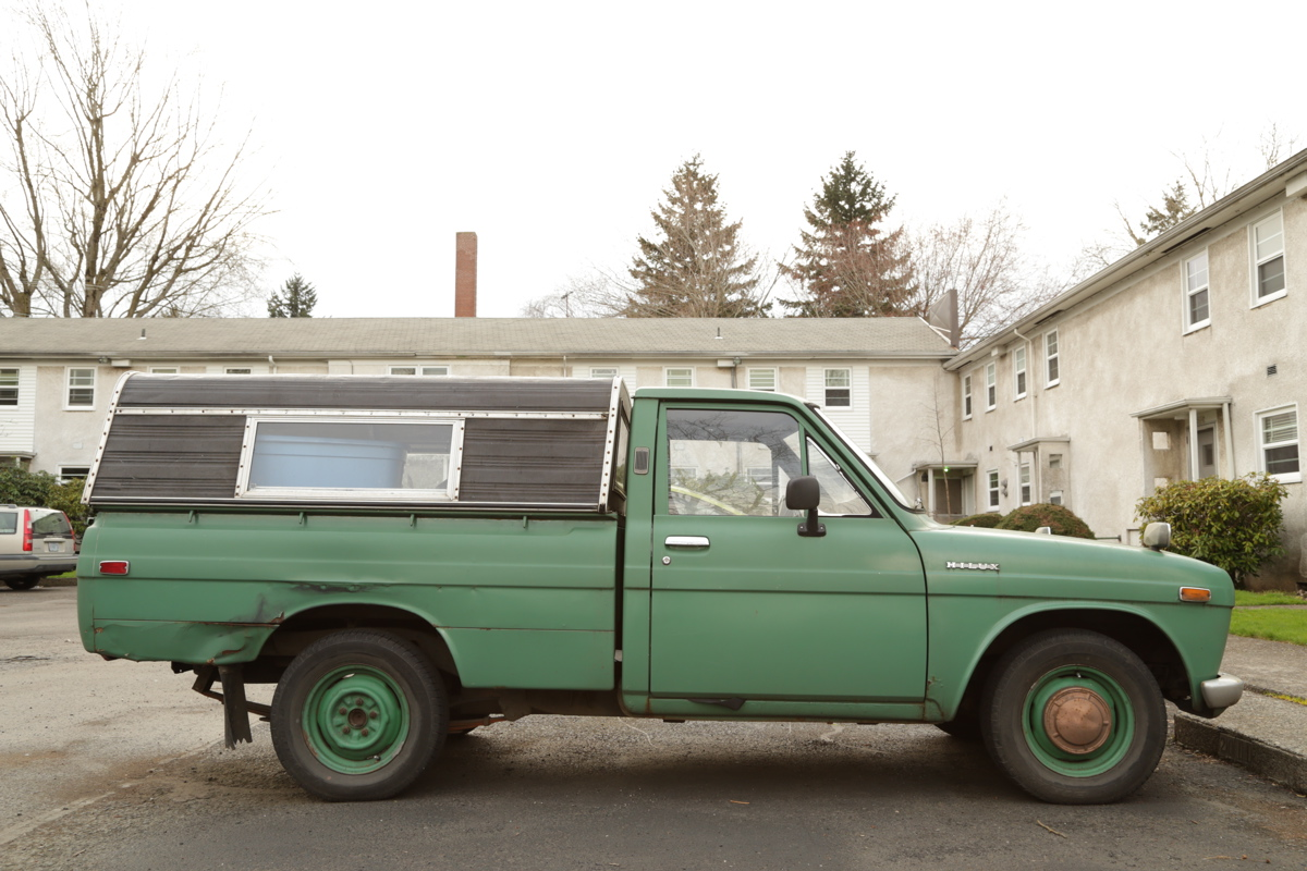 1970 Toyota Hilux pickup.