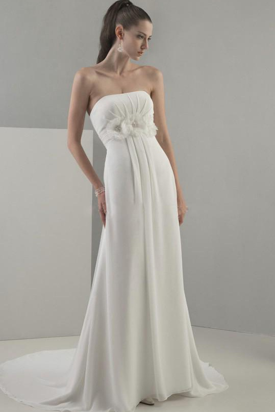 whiteazalea simple dresses summer chiffon simple wedding With simple chiffon wedding dress