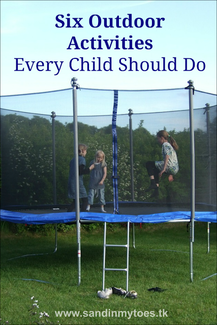 Six outdoor activities that every child should do more often.