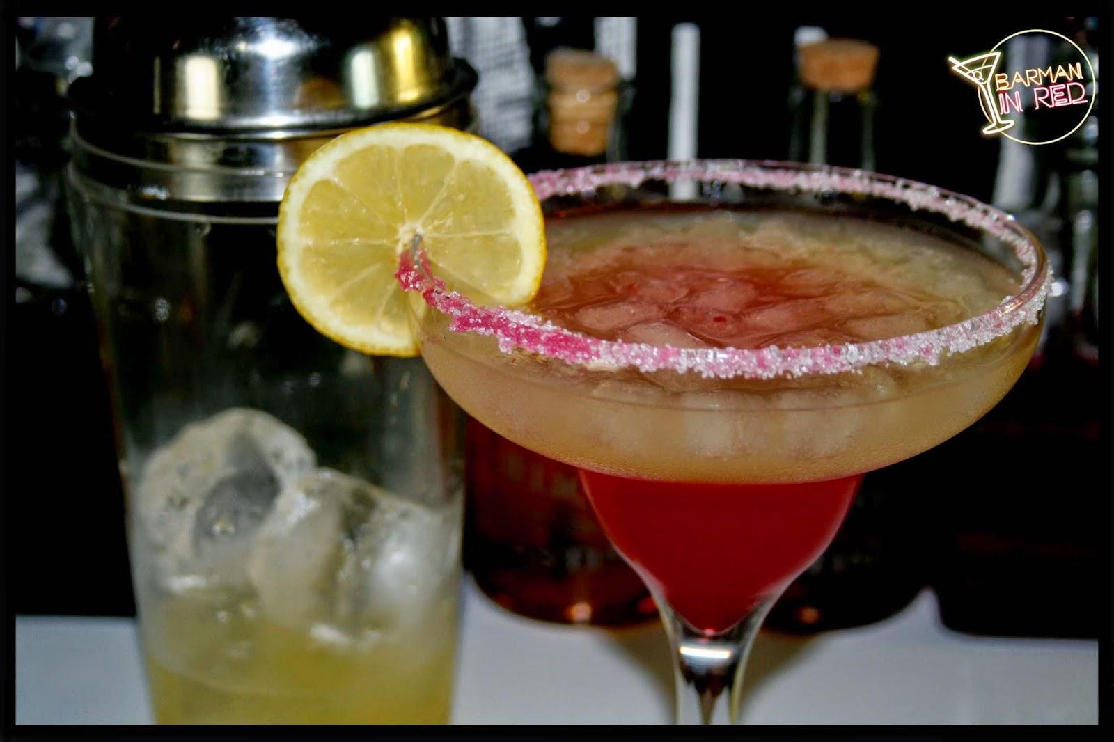 Recetas de bebidas con tequila margarita sunrise for Preparacion de margaritas