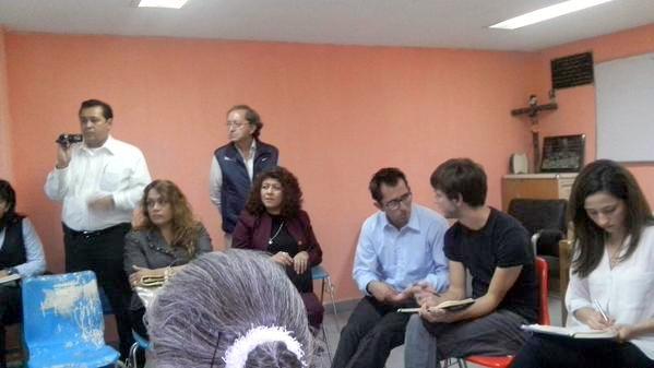 EL MOVIMIENTO 17 DE MARZO EN ENTREVISTA CON FUNCIONARIOS DE INGLATERRA