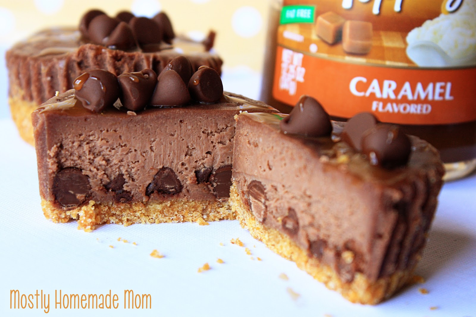 Chocolate Caramel Mini Cheesecakes & Pops Miller Liver Transplant Fund ...