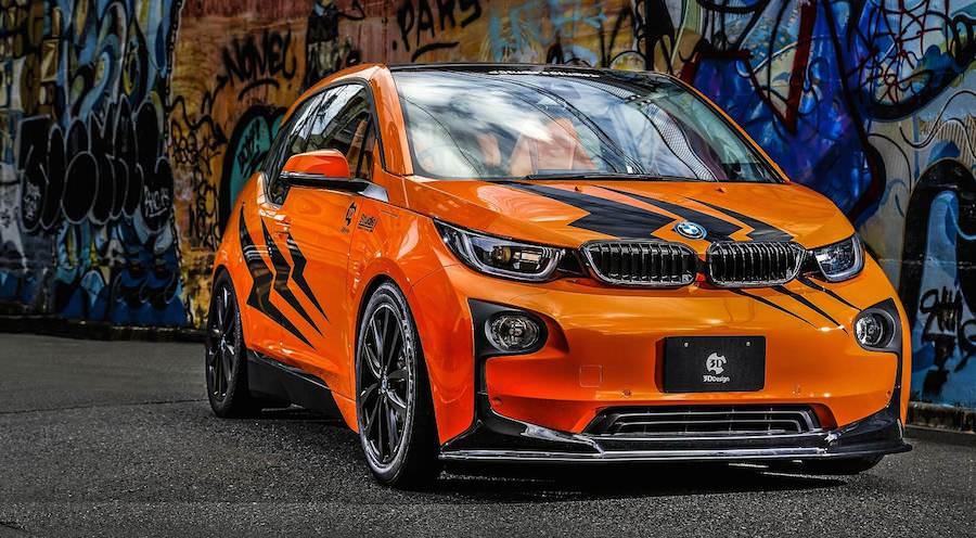 日本のショップとチューナーが「BMW i3」をコラボレーションしてカスタム!