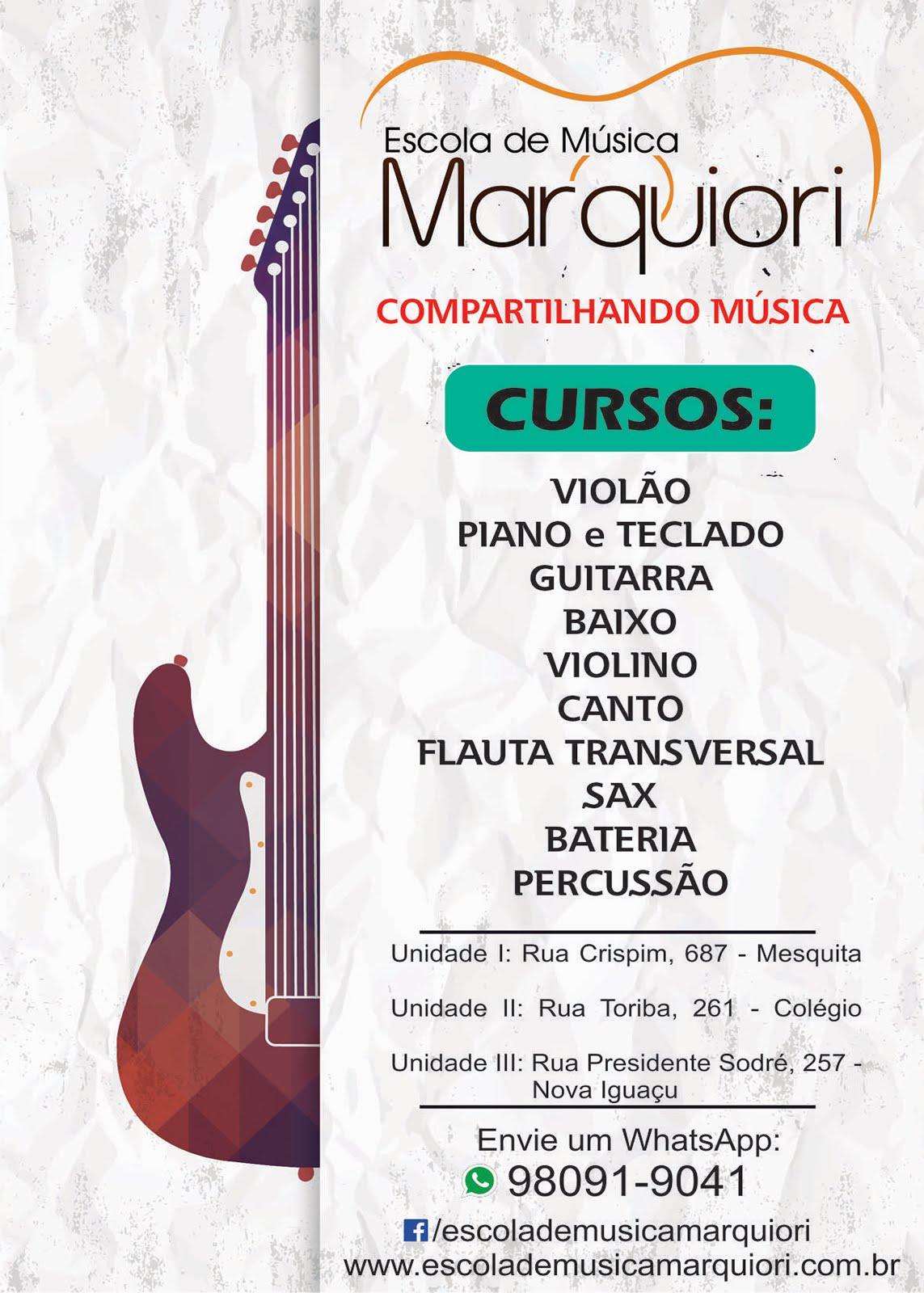 ESCOLA DE MÚSICA MARQUIORI