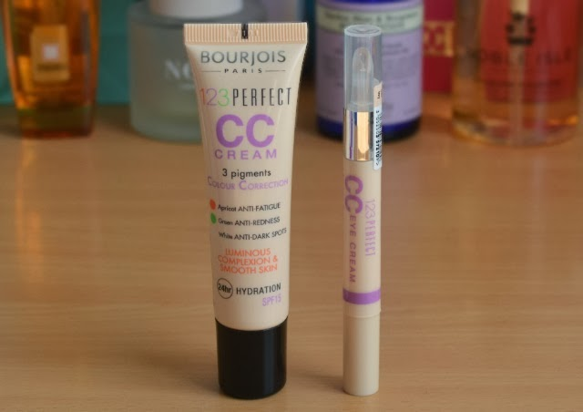 Bourjois 123 perfect CC cream and eye cream