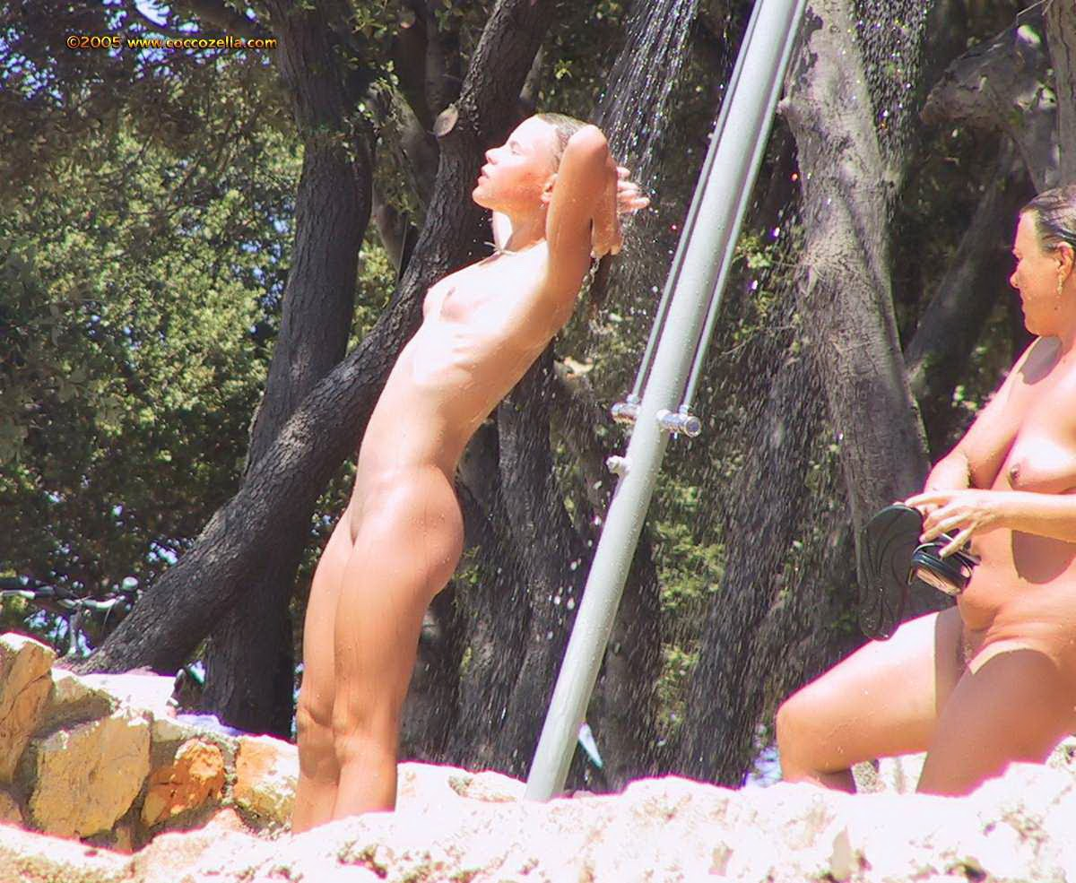 For support Croatia nudist family