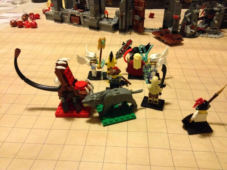 "Who knew LEGO ""Mixel"" figures could so easily come in to DnD games?"