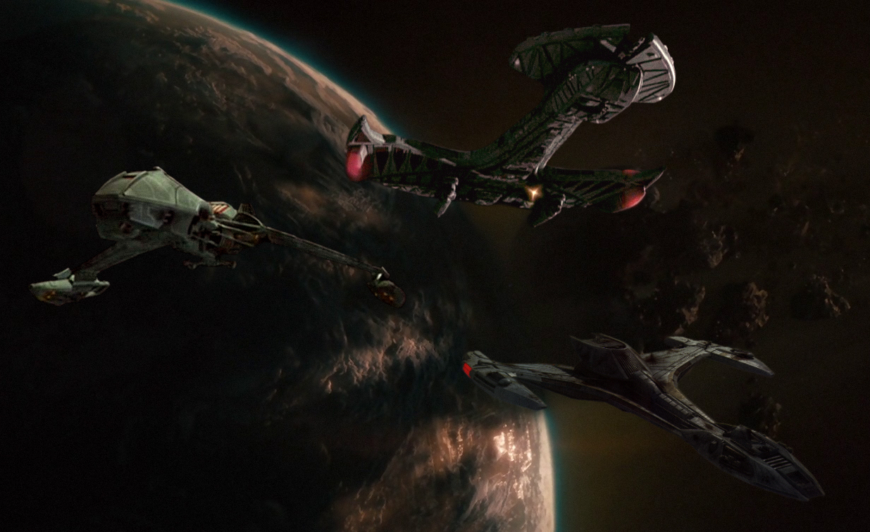 Uss Vengeance Wallpaper The Trek Collective: D...