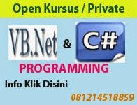 Private/Kursus VB.NET dan C#.NET