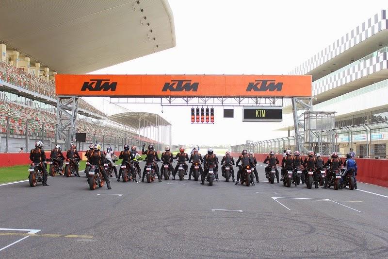 KTM Track Day 2015 BIC