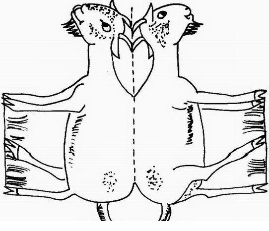 Figuras de animales para armar - Imagui